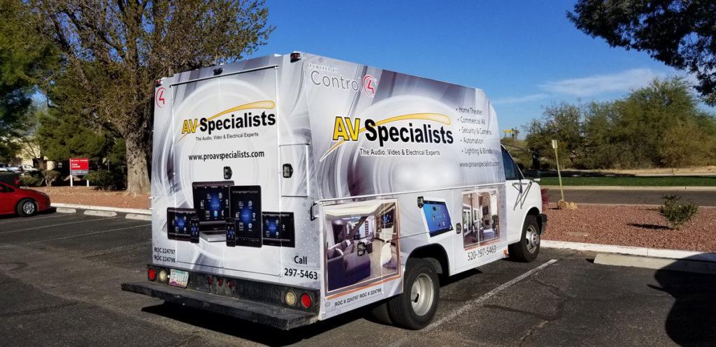 AV Specialists Truck
