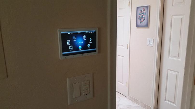 Control4 Touchscreen