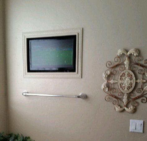 Custom Installed Bathroom LCD TV 600W 533V