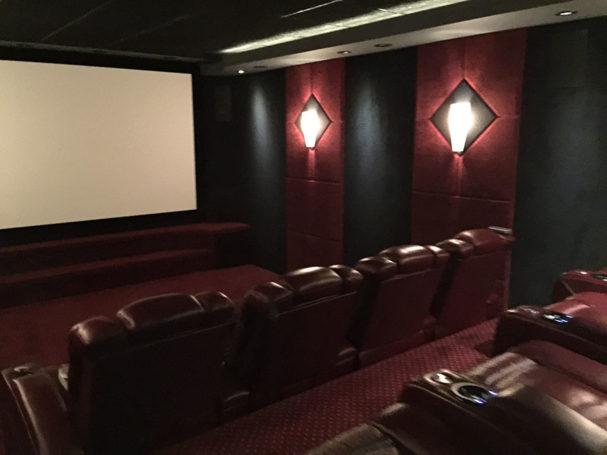Custom Theater Room Tucson