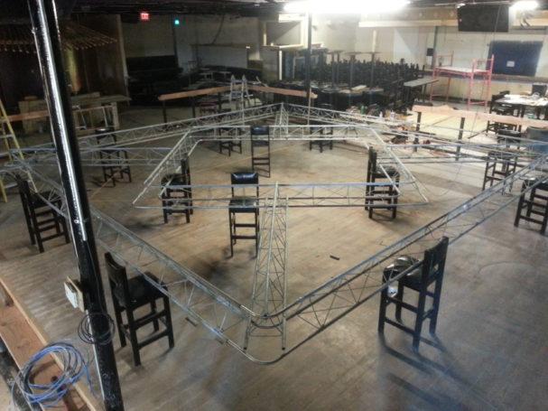 El Paseo Nightclub Truss Fabrication